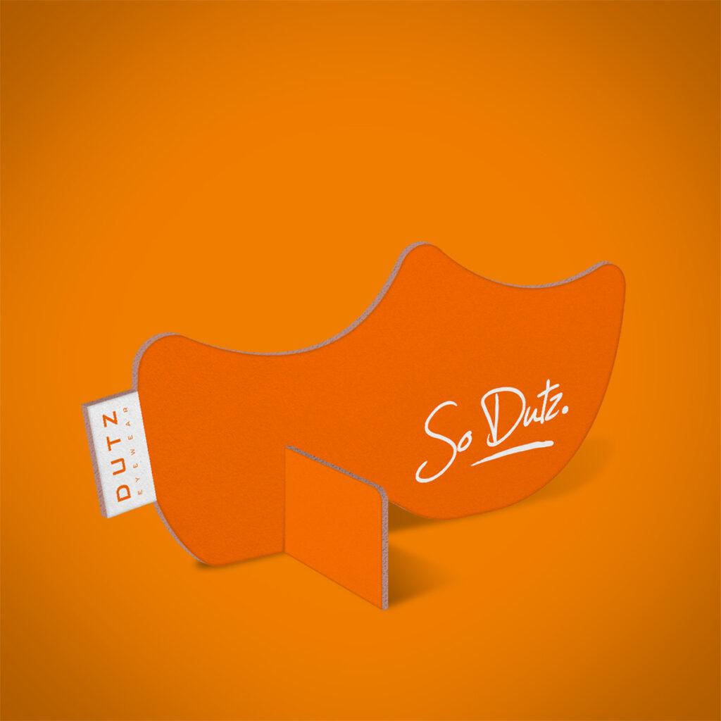 Dutz clog orange