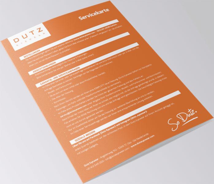 Servicekarte DE